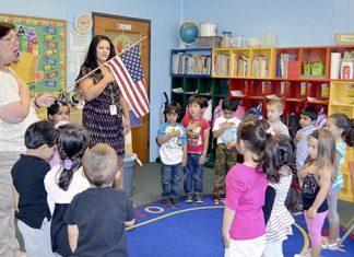 Nursery Students Begin School